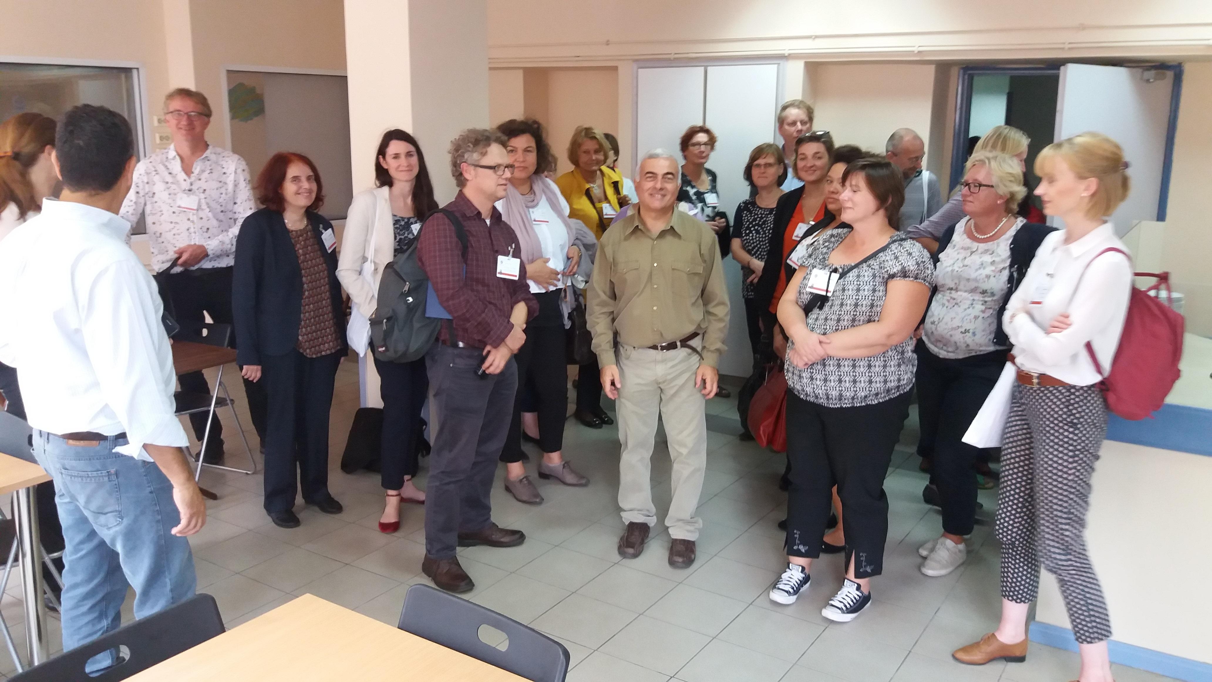 Εκπρόσωποι ευρωπαϊκών Δήμων επισκέπτονται το WELCOMMON