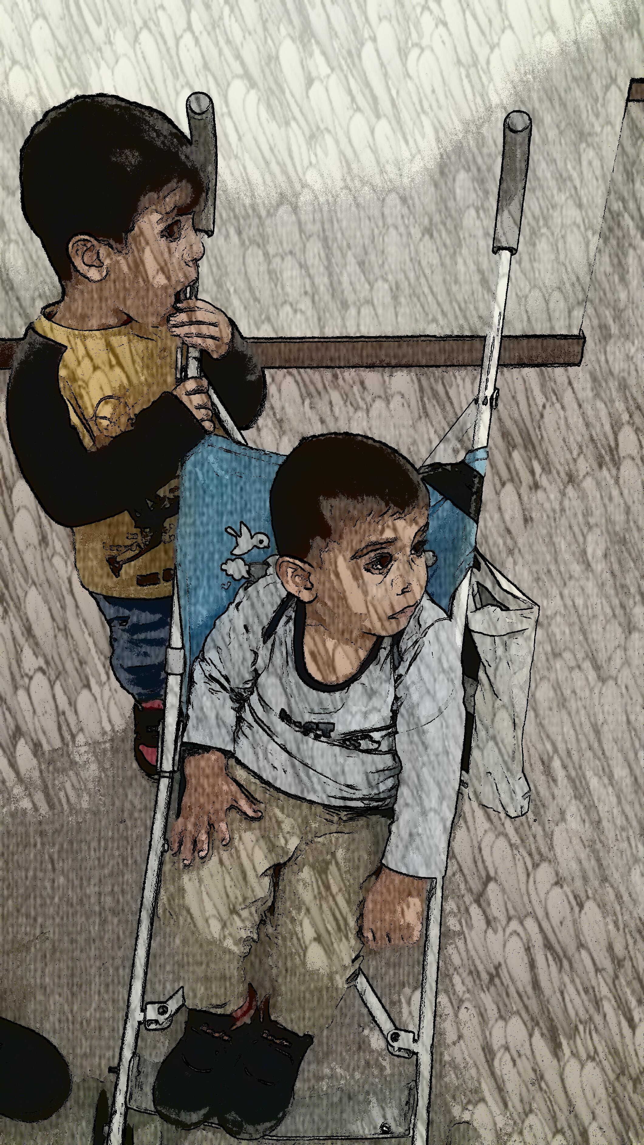 To WELCOMMON, με τα μάτια των παιδιών και μιας δημοσιογράφου
