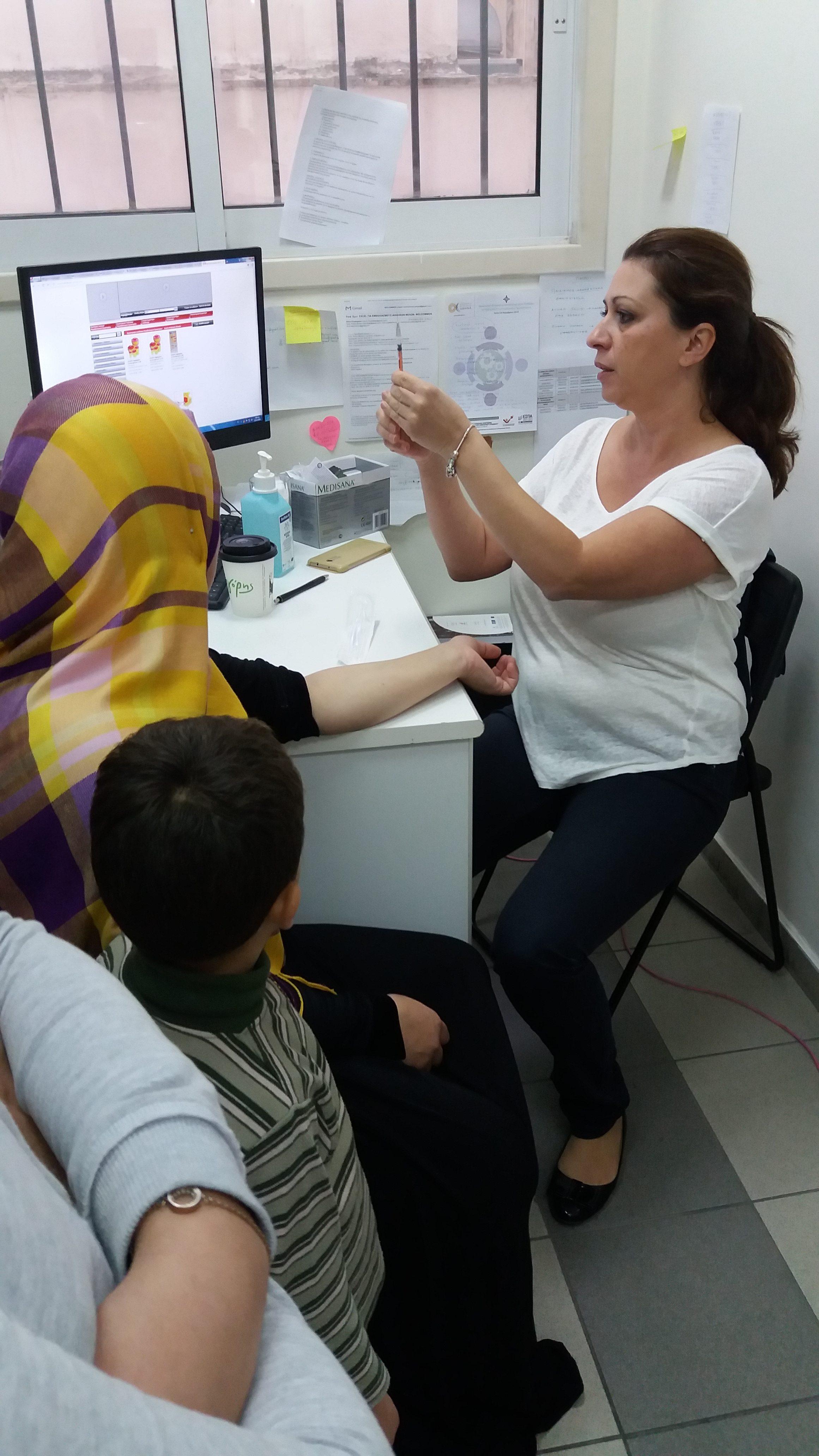 Στο WELCOMMON, φροντίζοντας την υγεία των προσφύγων και την δημόσια υγεία