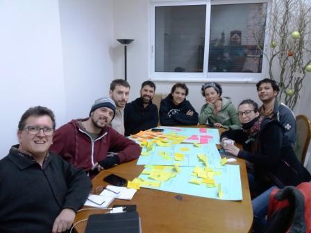 Συνεργασία με εθελοντές από την Καταλονία στο Welcommon