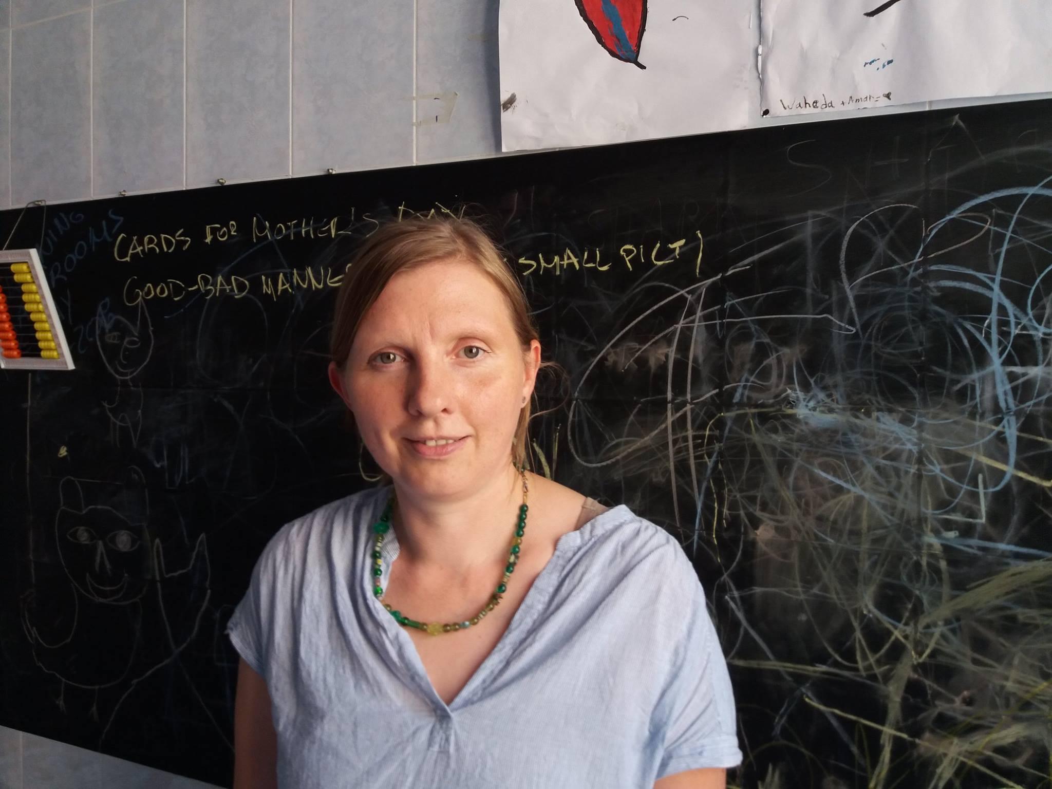 Η Γερμανίδα βουλευτής C. Rueffer στο WELCOMMON για πρόσφυγες με αναπηρία