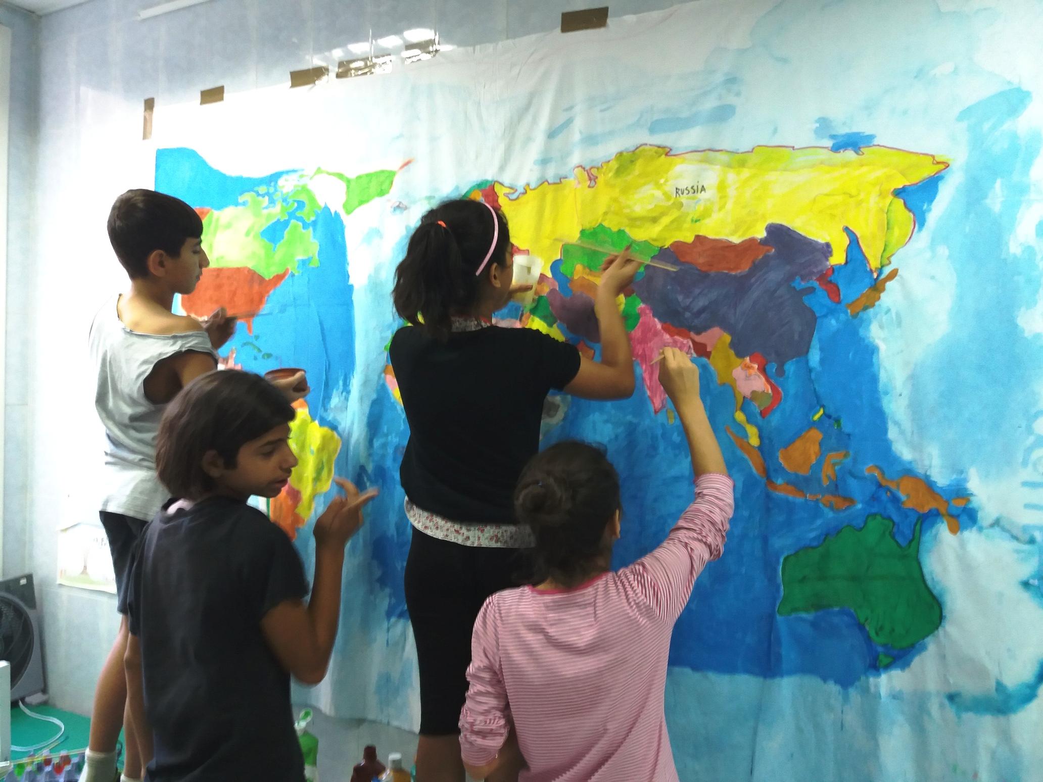 WELCOMMON, όχι μόνο κέντρο φιλοξενίας προσφύγων αλλά και στο επίκεντρο της ανταλλαγής εμπειριών