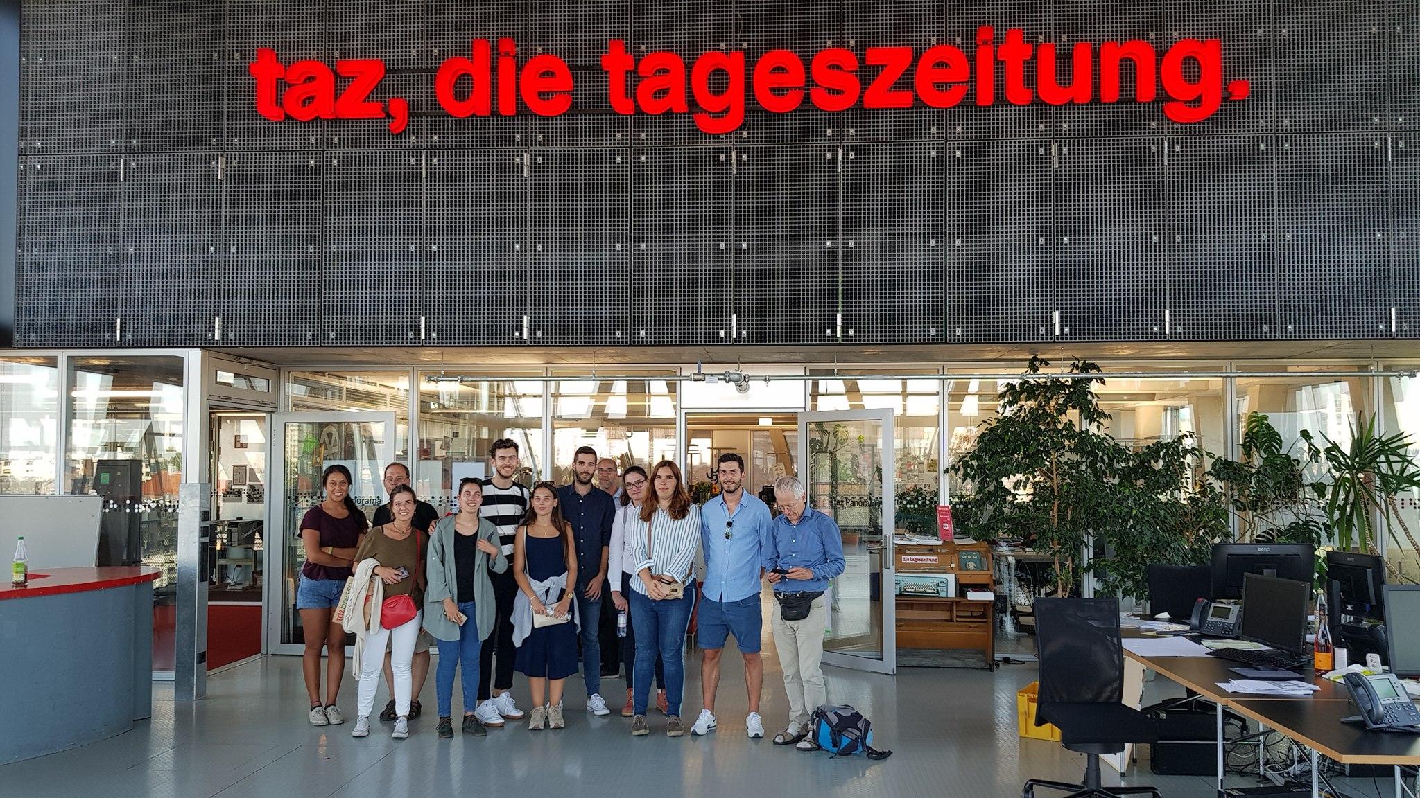 Nέοι και νέες από Αθήνα και Κάντιθ εκπαιδεύονται στο Βερολίνο σε φυσικές τεχνικές δροσισμού και θέρμανσης