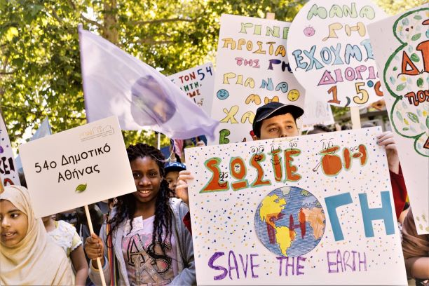 73 Climate Schools present their work for climate protection in Athens