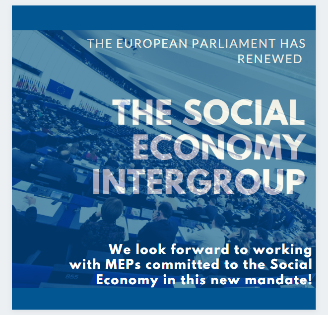 Good news: The Social Economy Intergroup in European Parliament has been renewed