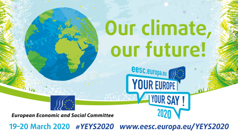 Young students from 33 countries all over Europe will travel to Brussels to discuss #ClimateChange