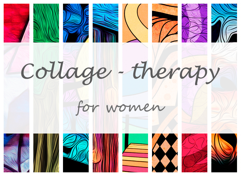 A new Wind of Renewal's intercultural course: COLLAGE – THERAPY for women