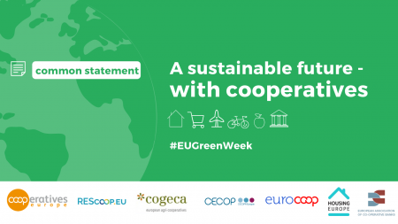 Common Statement: Sustainable future with coops – EU Green Week