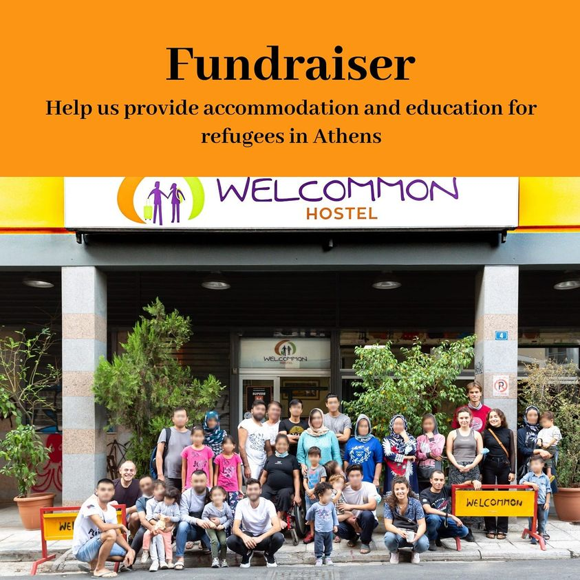WELCOMMON HOSTEL: we offer accommodation and education for refugees in Athens during COVID-19
