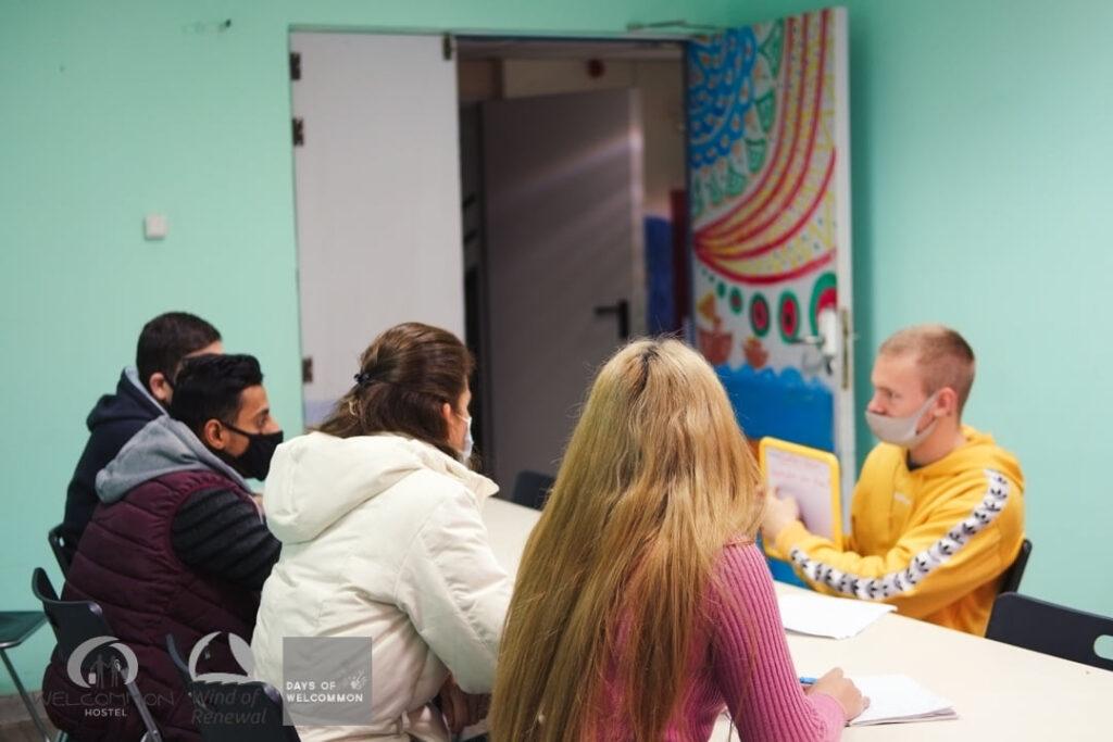 "Ben W., εθελοντής: Όμορφη εμπειρία να είμαι ""δάσκαλος"" αλλά και να μαθαίνω πολλά"