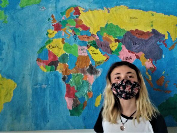 Allegra, εθελόντρια: μια εμπειρία που δεν θα ξεχάσω ποτέ
